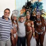Homenagem ao Lan é repleta de samba e mulatas