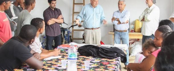 Casas da Comunidade Quilombola devem ser concluídas em um mês