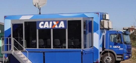 Unidade Móvel da Caixa já recebeu R$ 60 milhões em pedidos de financiamento