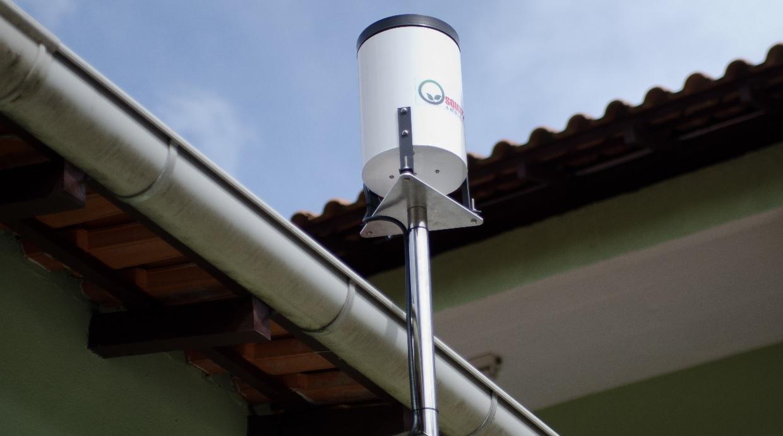Pluviômetros são instalados em Nogueira e no Vale do Cuiabá
