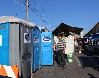 Projeto de Lei propõe a instalação de banheiros químicos nas feiras livres de Petrópolis