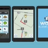 Motoristas podem usar o aplicativo Waze para ter acesso a informações atualizadas do trânsito