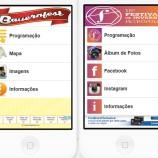 Petropolitano cria aplicativos com programação da Bauernfest e do Festival de Inverno da Dell'Arte