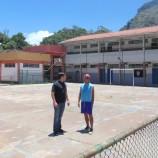 Instalação de cobertura e reforma de quadra no Morin começam neste mês