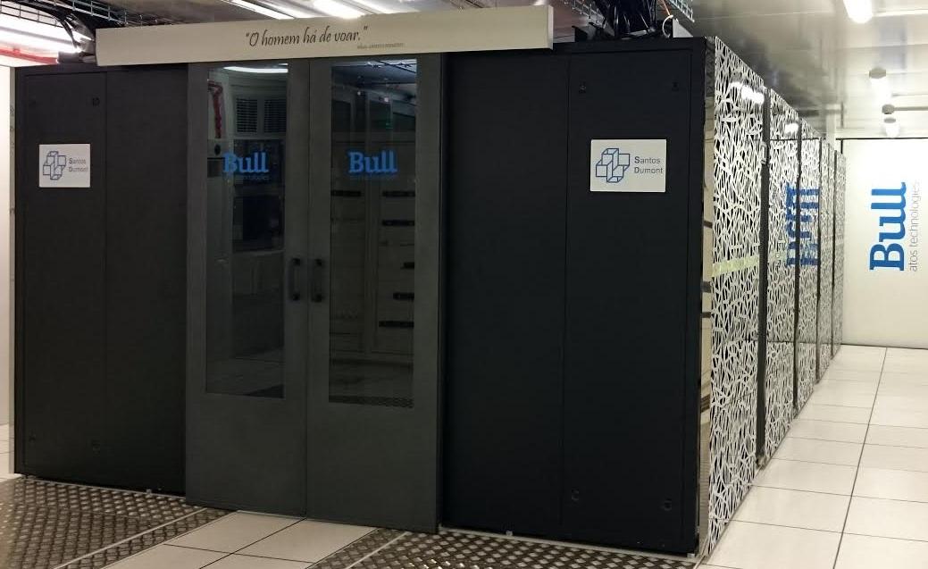 Resultado de imagem para Supercomputador Santos Dumont