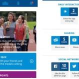 Aplicativo dos Jogos Rio 2016 oferece desafios e prêmios para torcedores