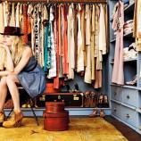 Closet bagunçado: transformando o velho em novo