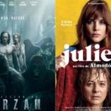 """""""A Lenda do Tarzan"""", """"A última premonição"""" e """"Julieta"""" estreiam nesta quinta-feira"""