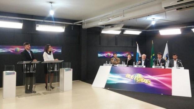 Debate com os candidatos à Prefeitura já pode ser visto pela internet