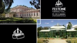 Festcine Imperial vai apresentar 17 filmes, com entrada franca, no Palácio de Cristal e no Museu Imperial