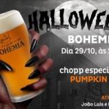 Chope especial e tributo a Raul Seixas marcam o Halloween na Bohemia