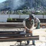 Quadra poliesportiva da Escola Luis Carlos Soares no Morin ficará pronta em 90 dias