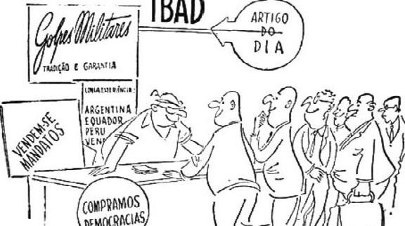 [Coluna] A derrama de dólares e a corrupção eleitoral do Brasil: a ação do IBAD na preparação do golpe militar