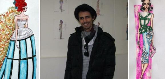 Estudante de moda se inspira em Petrópolis em suas criações