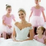 Evento no Alto da Serra apresenta vestidos de noiva inspirados em princesas