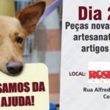 Proteção Cão Amor promove bazar em prol dos animais assistidos pelo grupo