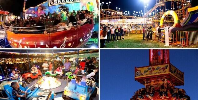 Parque de diversões chega a Itaipava