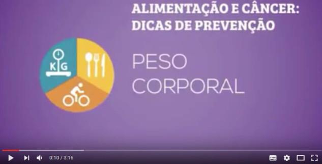Inca lança vídeos educativos sobre temas ligados à prevenção do câncer