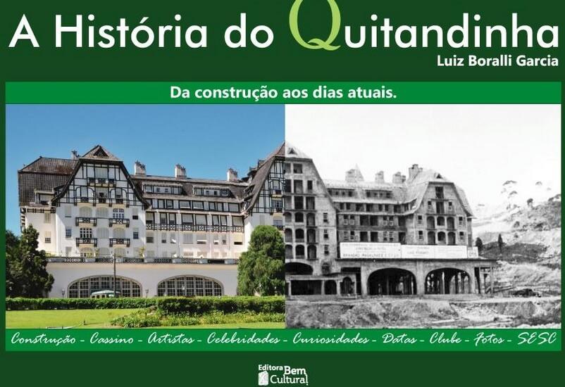 Livro sobre a história do Quitandinha é lançado nesta quinta-feira