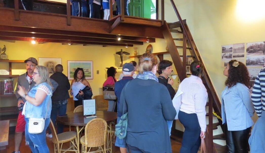 Museu Casa de Santos Dumont recebe 578 visitantes no Dia Internacional de Museus