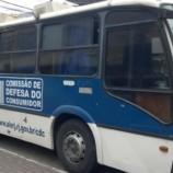 Ônibus de Defesa do Consumidor ficará estacionado da Praça Dom Pedro nesta semana
