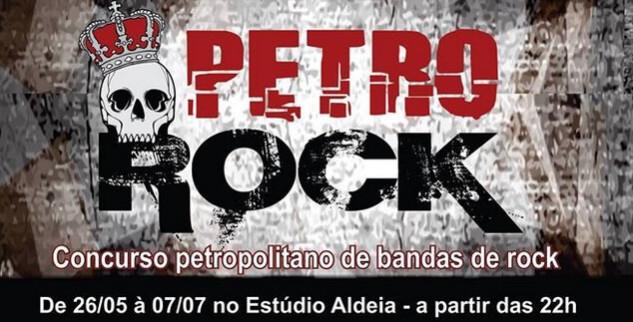 Petro Rock reúne bandas petropolitanas em uma disputa no Estúdio Aldeia