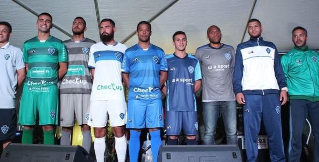 Serrano apresenta uniformes para a disputa da segunda divisão