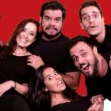 """Elenco do canal do YouTube Parafernalha apresenta o espetáculo """"Viralizou"""" em Petrópolis"""