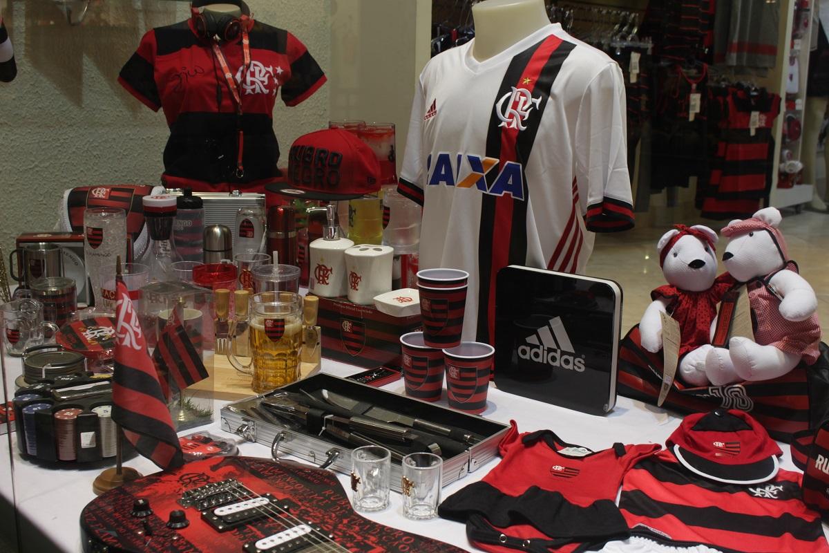 3faa7c09d4 Mundo Fla: loja só com produtos do Flamengo é inaugurada no Hipershopping